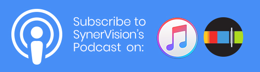 Subscribe to Synervision's Podcasts button